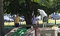 Men mini-golfing - East Potomac Golf Course - East Potomac Park - 2013-08-25.jpg