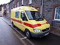 Mercedes Sprinter CDI Ambulance A.m.u. La Roche pic2.JPG