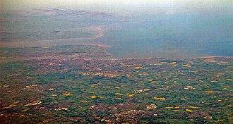 Merseyside - An aerial photograph of Merseyside