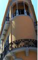 Messina, Via Garibaldi, banco Cerruti o palazzo del Granchio o Isolato 312 (Comp.III) del PR di Messina o palazzo Francesco Savoja e Matilde Savoja vedova Galletti (Gino Coppedè e Giuseppe Mallandrino) (5).png