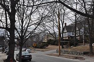 Pleasant–High Historic District - Pleasant Street