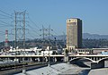 Metro HQ and Gold Line train.jpg