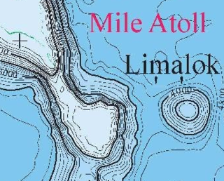 Limalok Cretaceous-Paleocene guyot in the Marshall Islands