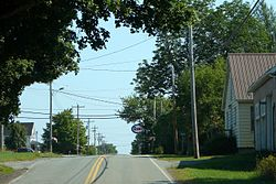 Route 357 in Middle Musquodoboit