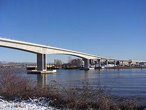 Middle Arm Bridge - The Middle Arm Bridge.