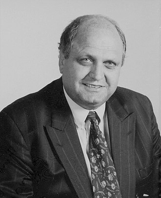 Mike Moore (New Zealand politician) - Moore in 1992 while Leader of the Opposition