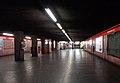 Milano staz metropolitana Amendola corridoio.JPG