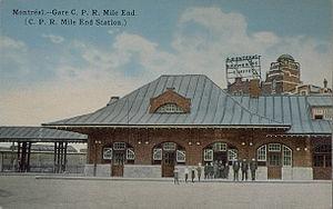 Mile End, Montreal - Mile End Station