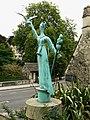 Millennium statue, Bradford on Avon - geograph.org.uk - 1442860.jpg