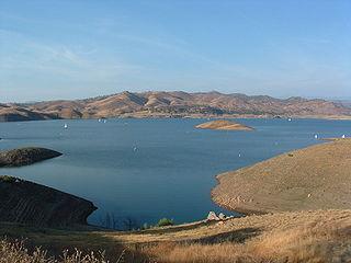 Millerton Lake in California