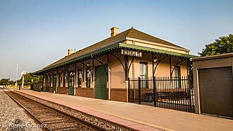 Mineola, Texas - Image: Mineola Train Depot (1 of 1)