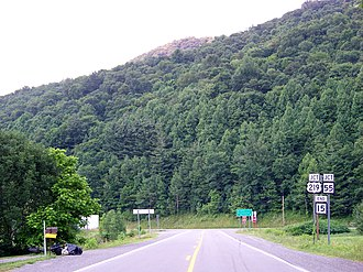 Valley Head, West Virginia - Outside Valley Head