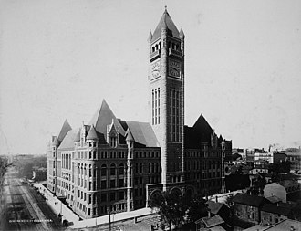 Government of Minneapolis - Image: Minneapolis City Hall circa 1900