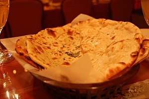 Punjabi cuisine - Mint Paratha from Punjab, India
