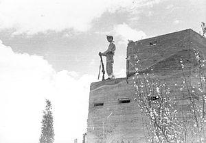 Mishmar HaEmek - Mishmar HaEmek defenses, 1948