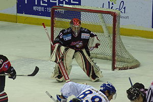High1 - With three new goaltenders in 2010, Mistuaki Inoue became the team's number one, playing in all 36 games.