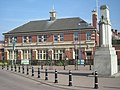 Mitchells and Butlers War Memorial and Office block - geograph.org.uk - 1217983.jpg