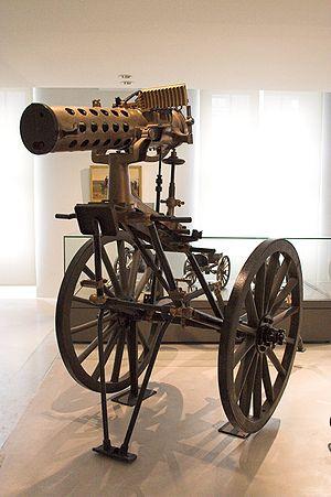 Gatling gun - Mitrailleuse Gatling modèle APX 1895