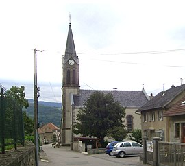 The church in Mitzach