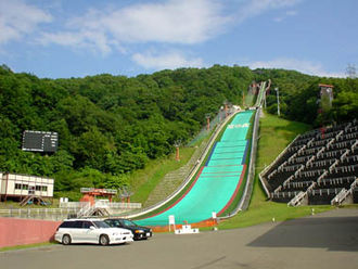 2017 Asian Winter Games - The Miyanomori Stadium will host part of the ski jumping competition
