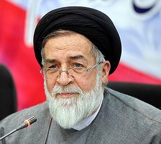 Mohammad-Ali Shahidi - Image: Mohammad Ali Shahidi in press conference