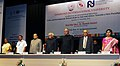 Mohd. Hamid Ansari at the International Relations Conference on 'India and Development Partnerships in Asia and Africa Towards A New Paradigm', in Pune. The Governor of Maharashtra.jpg