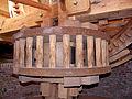 Molen De Korenbloem, Kortgene bovenwiel bovenrondsel.jpg