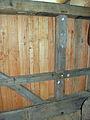 Molen Weseker standerdmolen Duitsland, steenlijst daklijst.jpg