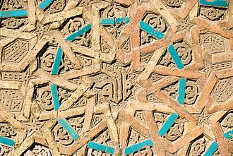 Azerbaijani art - Ornament on Momine Khatun Mausoleum in Nakhchivan, the 12th century