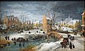 Momper d. J. A Village in Winter@Kunsthalle Hamburg.JPG
