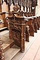 Monastère Royal de Brou - Choirs stalls 7.jpg