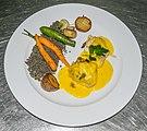 Monkfish tail with saffron sauce.jpg