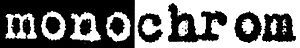 Monochrom - Image: Monochrom art group logo