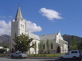 Montagu, Western Cape - The Dutch Reformed Church in Montagu