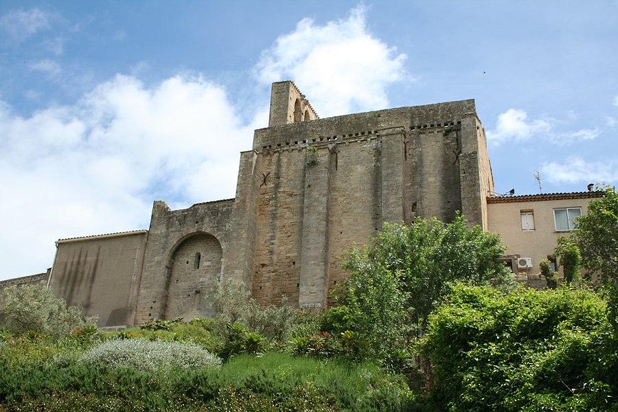 Montbazin (Hérault) - Chapelle castrale Saint-Pierre.