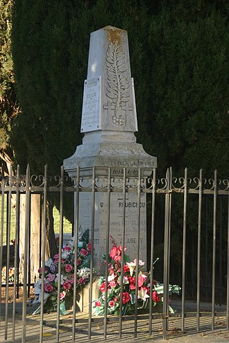 Arvigna - Image: Monument aux Morts 2