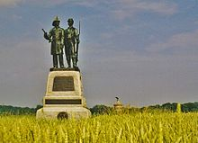 Monument for the 73rd NY Infantry, Gettysburg.jpg