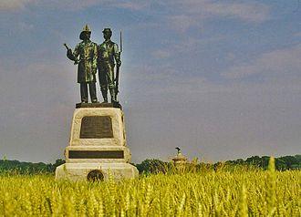 73rd New York Volunteer Infantry Regiment - 73rd New York Infantry Monument, Gettysburg Battlefield