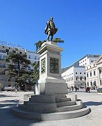 Monumento a Cervantes (1835) Madrid 03.jpg