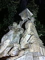 Monumentul Eroilor căzuţi în primul război, Afumați - detalii personaje.JPG