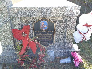 The Fabulous Moolah - Mary Ellison's gravestone in Columbia, South Carolina