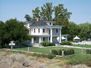 National Register of Historic Places listings in Franklin County, Washington - Image: Moore's Mansion in Pasco, Washington