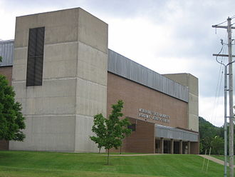Ellis Johnson Arena - Image: Morehead Johnson Arena 1