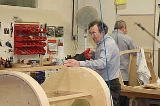 Craft - Woodworking being done in a workshop
