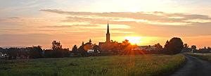 Günthersleben-Wechmar - Image: Morgenstimmung in Wechmar
