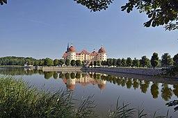 Moritzburg bei Dresden am Morgen