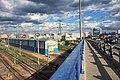 Moscow, railroad tracks west of Kievsky Terminal (31394808776).jpg
