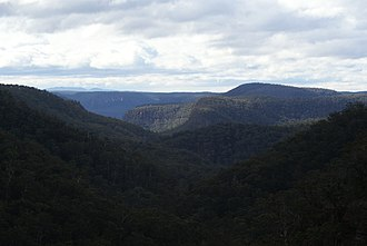 Mittagong - View from Katoomba Lookout on Mount Alexandra