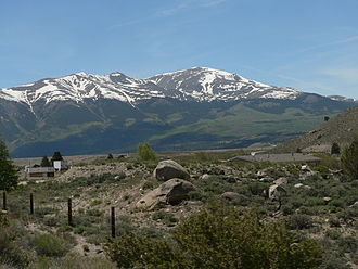 Ecology of the Rocky Mountains - Mount Elbert rises through multiple biotic zones, with alpine tundra at its peak.
