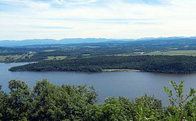 Mount Independence on Lake Champlain, Orwell, Vermont.jpg